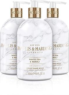 Baylis & Harding Elements White Tea & Neroli, 500ml Hand Wash, Pack of 3