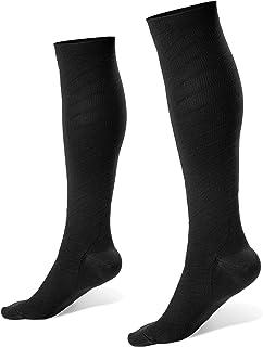 Fiream Mens and womens compression socks 20-30 mmHg – Best Graduated Athletic, Running, Travel, Nurse compression socks