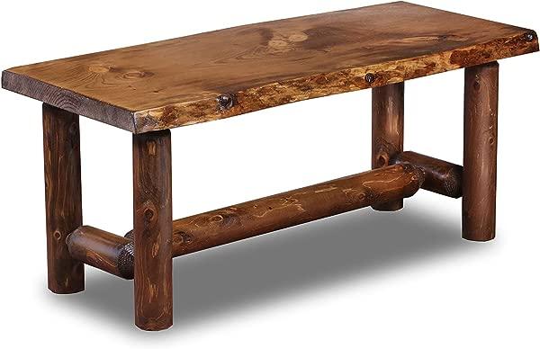 Rustic Log Coffee Table Pine And Cedar Honey Pine