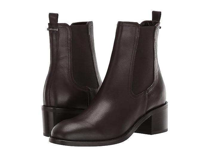 Aquatalia Jemma (Espresso Calf/Elastic) Women's Shoes -  L2230-ESP