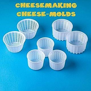 Kit de 7 piezas para hacer queso | Moldes de queso Variouse 0.25-0.6 kg