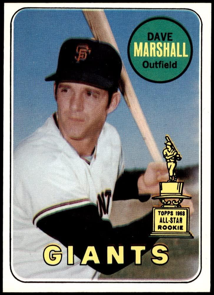 1969 Topps # 464 YN Dave Baseball Marshall Tucson Mall Popular brand in the world Giants Francisco San