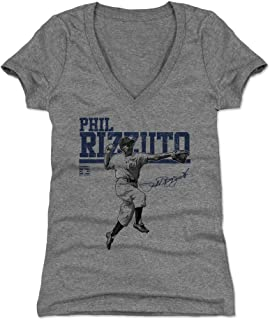 500 LEVEL Phil Rizzuto Women's Shirt - Vintage New York Baseball Shirt for Women - Phil Rizzuto Play