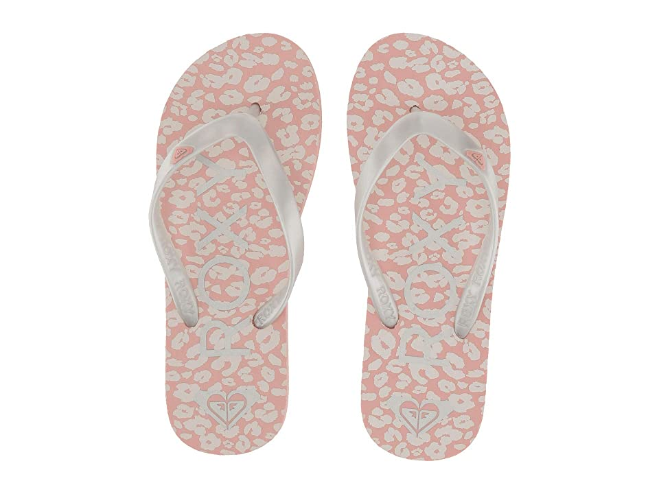 Roxy Kids Tahiti VI (Little Kid/Big Kid) (Cheetah Print) Girls Shoes