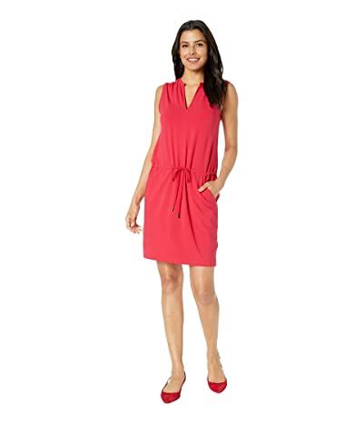 Lilla P Tie Waist Dress (Campari) Women