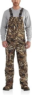 Men's 101498 Shoreline Camo Bib Overalls - X-Large Short - Realtree Max-5