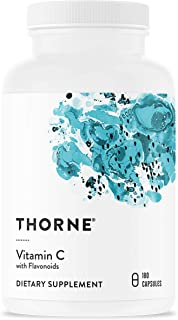 Thorne Research - Vitamin C with Flavonoids - Blend of Vitamin C and Citrus Bioflavonoids from Oranges, The Way They're Fo...