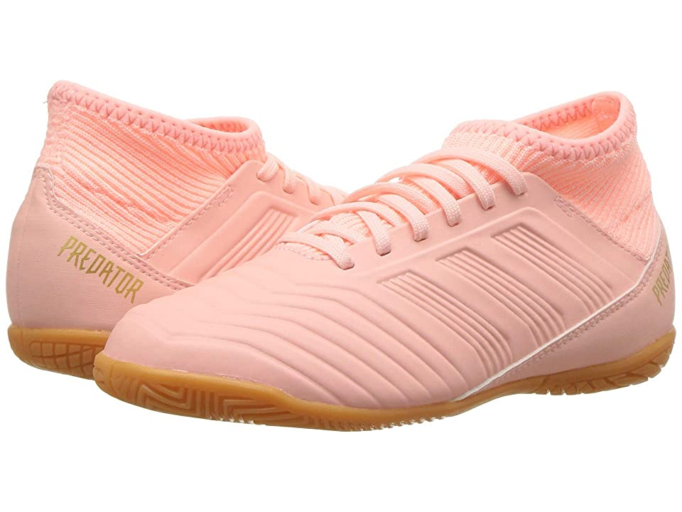 adidas Kids Predator Tango 18.3 IN Soccer (Little Kid/Big Kid) (Clear Orange/Trace Pink) Kids Shoes