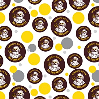 GRAPHICS & MORE Saturdays are for The Comrades Communists Funny Humor Premium Gift Wrap Wrapping Paper Roll