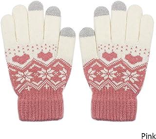 4e964e265cc Acingo Children Touch Screen Gloves For Baby girls boys Gloves Knit Gloves  Mittens Children Kids Winter