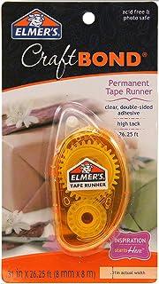 Elmer's E4006 CraftBond 永久胶带 Dispenser 透明