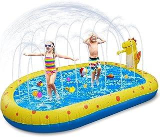 """Inflatable Swimming Pool Kiddie Pools, 67""""x41""""x26"""" Blow Up Pool for Kids, Inflatable Lounge Pool for Toddlers, Easy Set Sw..."""