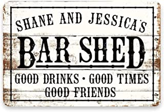 Details about  /House Rules Home Decor Garage Rustic Vintage Tin Signs Man Cave Shed Bar