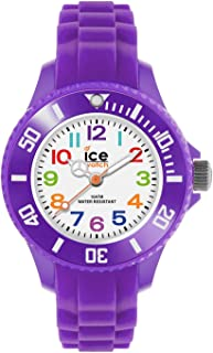 Ice-Watch - Ice Mini Purple - Montre Violette pour Fille avec Bracelet en Silicone - 000788 (Extra Small)