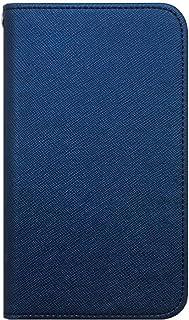 【ロゼ(Rosee)】 ZTE Axon 7 (5.5インチ) 手帳型 スマホケース カバー 収納 入れ ストラップホール ストラップ穴 手帳式 シンプル 全機種対応 国内生産 ★Navy★