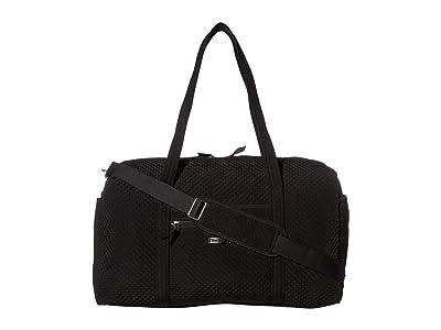 Vera Bradley Large Travel Duffel (Classic Black) Handbags