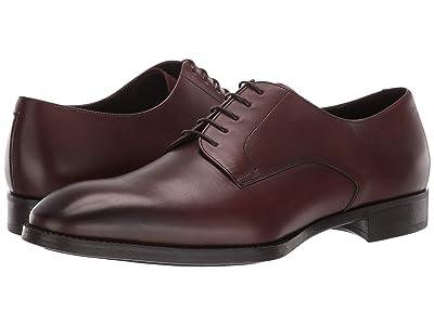 Giorgio Armani Plain Toe Oxford (Brown) Men
