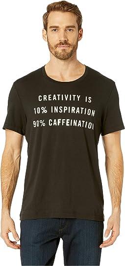 Creativity = Caffeination Graphic Tee
