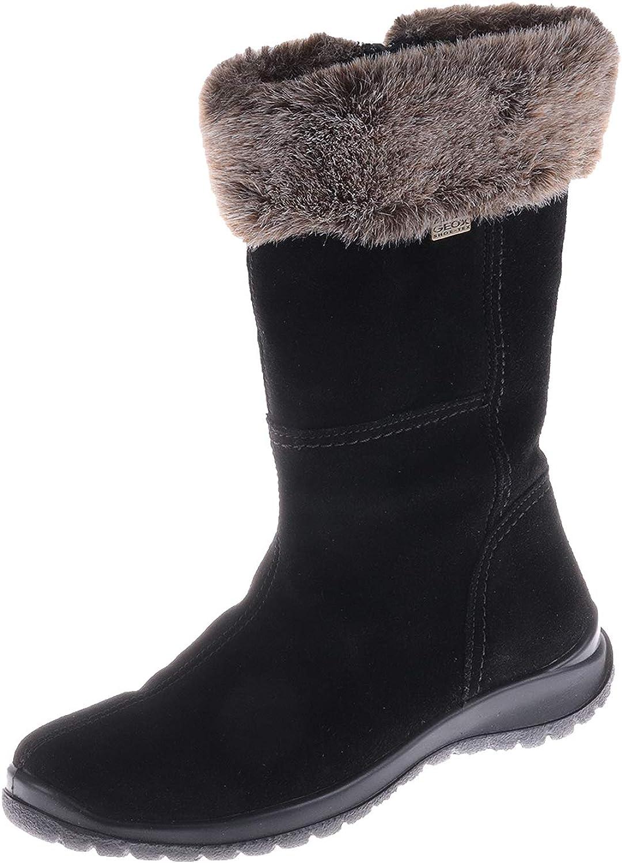 Geox Damenschuhe Damenschuhe Stiefel Schwarz 63600022999  beste Qualität zum besten Preis