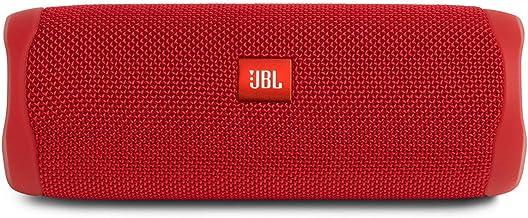 بلندگوی بلوتوث قابل حمل ضد آب JBL FLIP 5 - قرمز (تمدید شده)