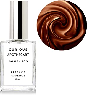 Curious Apothecary Paisley Too perfume spray. Patchouli Chocolate Amber Cacao Chocolate. 15ml