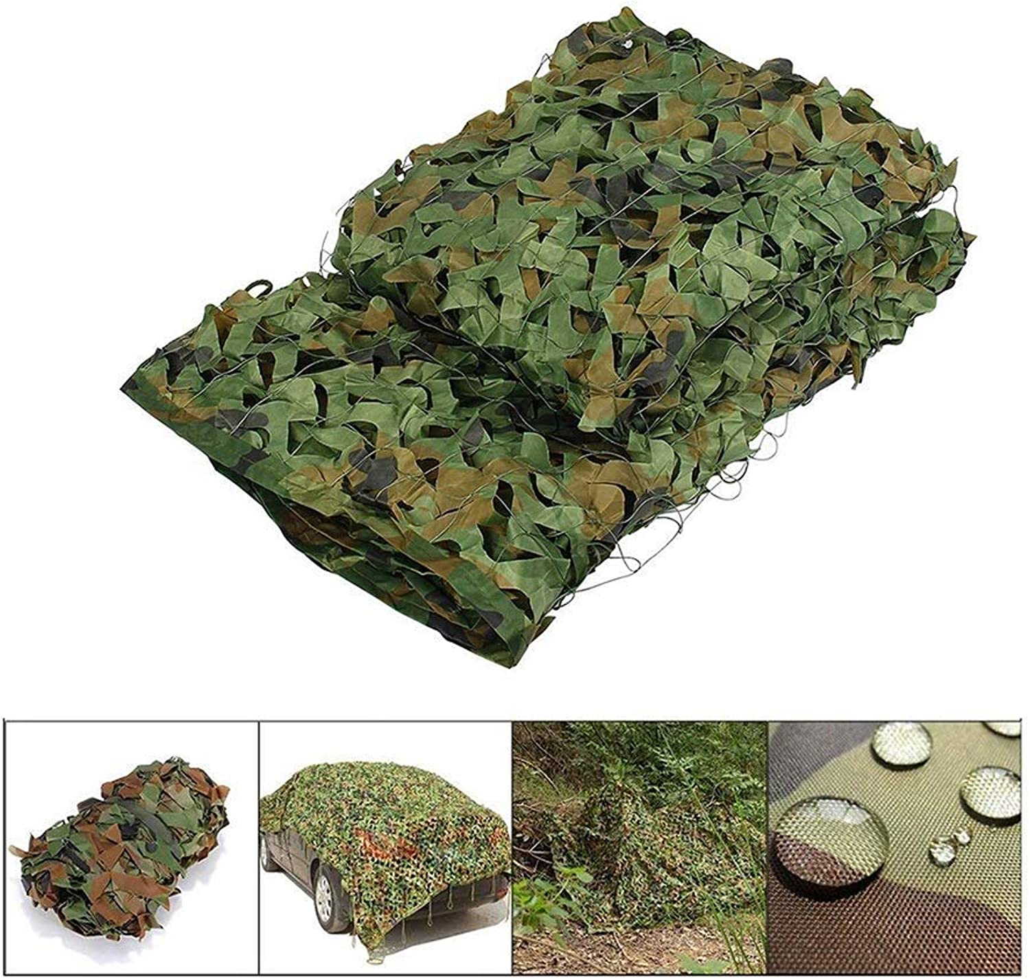 Camouflage net Camouflage Net, Camouflage Net Cover Shade Net for Outdoor Wedding Party Hunting Camping Military Vehicle Awning (MultiSize Optional)