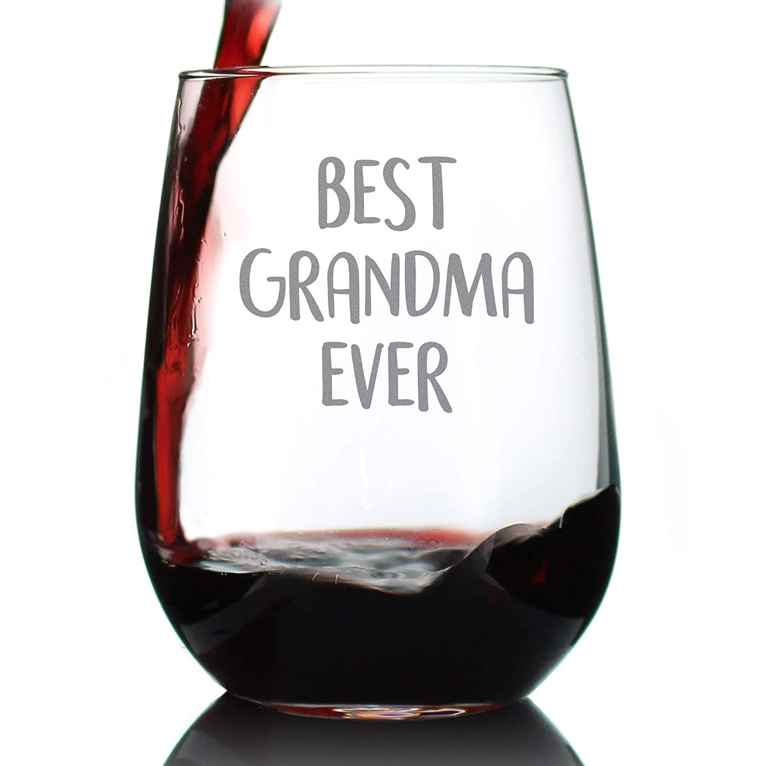 Best Grandma Limited Special Price Ever - Cute Stemless Grandmothe Glass for Gift Wine Max 79% OFF
