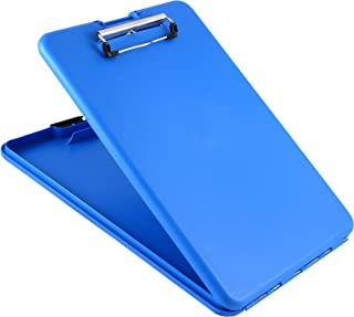 Saunders Blue SlimMate Plastic Storage Clipboard – Light..