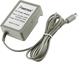 Insten Travel Charger Compatible With Nintendo NEW 3DS XL / 3DS XL / 2DS / 3DS / DSi / DSi XL, Gray