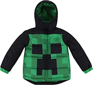 Dreamwave Boys' Authentic Character Winter Puffer Jacket with Hood