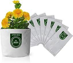 Trust Basket Poly Grow Bags UV Stabilized -10 Qty. [20cms(L)X20cms(W)X35cms(H)]