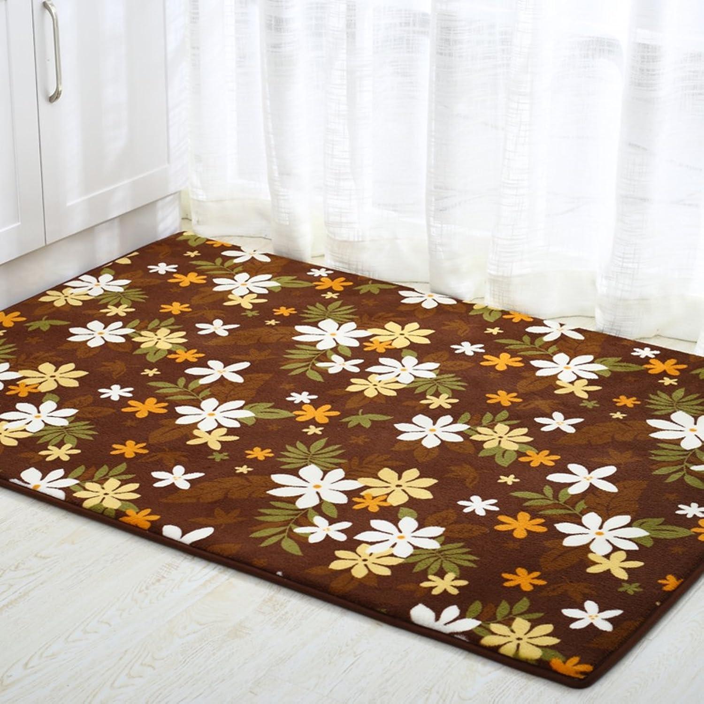 Coral velvet padded mat Doormat Door mats [hall] Door mat Entrance door mats-D 80x120cm(31x47inch)