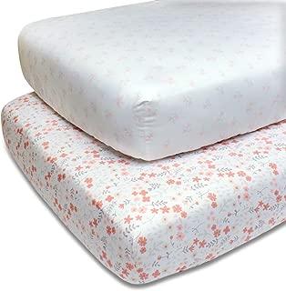 crib sheets floral