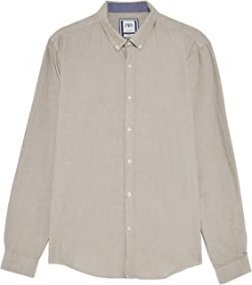 Zara Men Textured Oxford Shirt 8211/303
