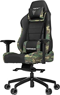 Vertagear P-Line 6000 Racing Series Gaming Chair, X-Large, Black/Camouflage