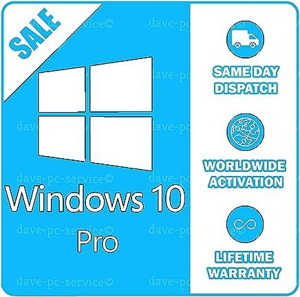 Windows 10 professionnel 32/64 bits Microsoft   Licence Français   100% de garantie d'activation   Livraison par e-mail