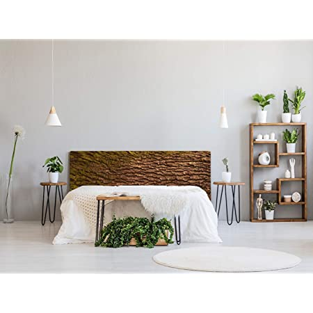 Cabecero Cama PVC Madera 135x60cm | Disponible en Varias Medidas | Cabecero Ligero, Elegante, Resistente y Económico