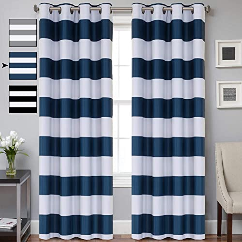 Curtain Blue And White Blackout Curtains Curtains Online Sale