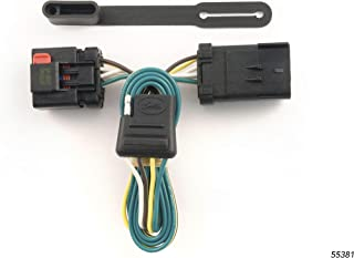 CURT 55381 Vehicle-Side Custom 4-Pin Trailer Wiring Harness for Select Chrysler, Dodge, Jeep Vehicles