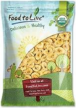 Organic Banana Chips, 5 Pounds — Sweetened, Unsulfured, Non-GMO, Kosher, Vegan, Bulk