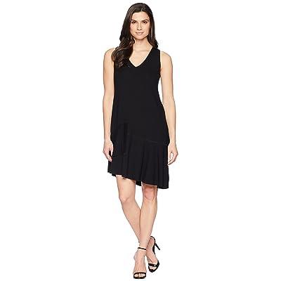 Lilla P Peplum Dress (Black) Women