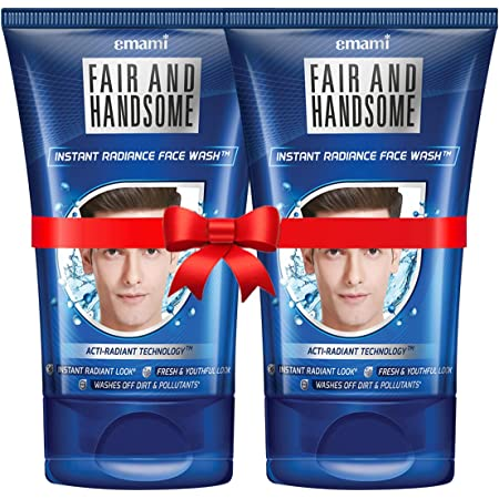 Fair and Handsome Instant Radiance Face Wash, 100g Pack of 2