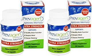 Prevagen (apoaequorin) Extra Strength 20mg 30 caps two pack