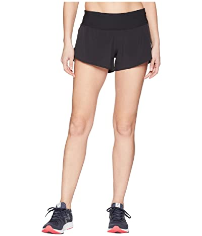 New Balance 3 Impact Shorts (Black) Women