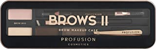Profusion Cosmetics Eyebrow Pro Makeup Case Brows I Palette - Medium Dark