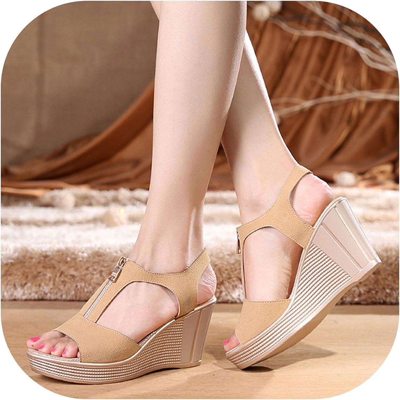 Women Sandals Platform Women shoes Wedges Sandals Summer Open Toe Ladies Sandals