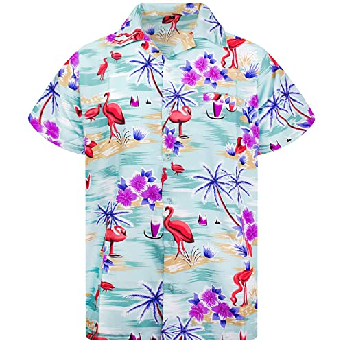 0ab4c1f6 Funky Hawaiian Shirt | Men | XS-12XL | Short-Sleeve | Front-