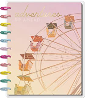 Create 365 The Big Happy Planner Life is A Party; Ferris Wheel ; 2019 Dated ; Lined Vertical Layout ; Large Planner