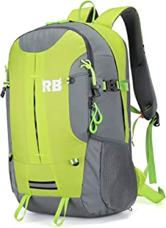 Reflective Backpack for riders and outdoor, Hi Viz fluor backpack for men, RiderBag Reflektor 35 G. Great for motorcycle a...