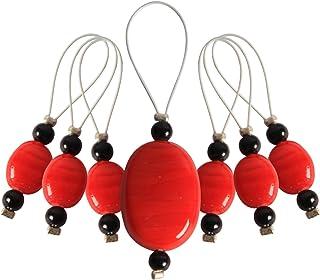 KnitPro Zooni Marqueurs de Mailles Perles Orange